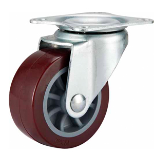 Light Duty Polyurethane Caster Swivel Top Plate
